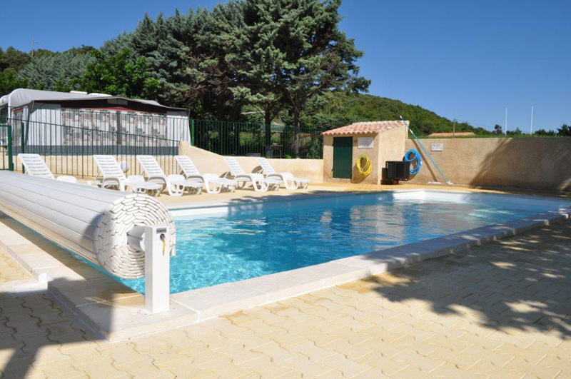 A secure bathing place for Camping verdon piscine
